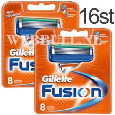Gillette Fusion 16 scheermesjes