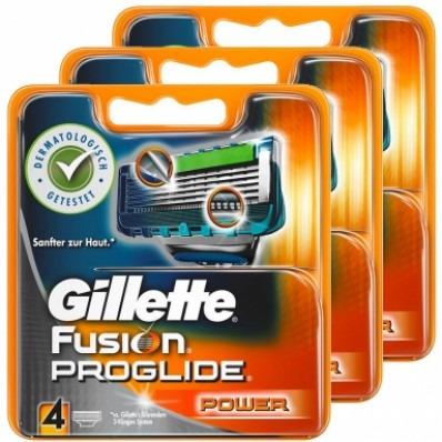 Gillette Fusion Proglide Power 12 stuks Scheermesjes