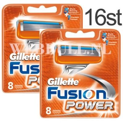 Gillette Fusion 16 scheermesjes power