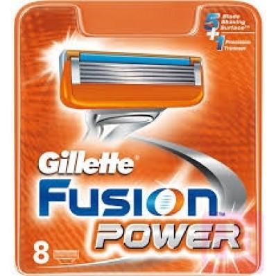 Gillette Fusion Power 8 scheermesjes