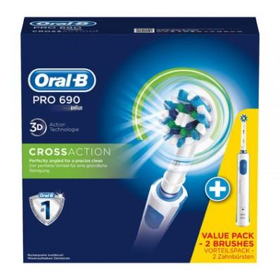 ORAL-B PRO 690 CROSS ACTION BONUS HANDLE