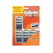 Gillette Fusion 12 stuks Scheermesjes