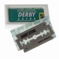 Derby Dubbelzijdige scheermesjes extra 5 Blades