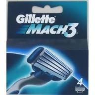 Gillette Mach3 4 scheermesjes