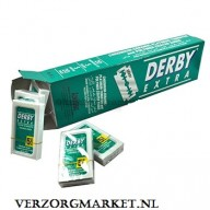 Derby Dubbelzijdige scheermesjes extra 20 x 5=100 Blades