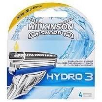 Wilkinson sword hydro 3 scheermesjes 4st.