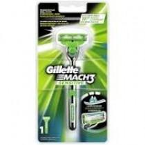 Gillette Mach3 houder + 1 scheermesje