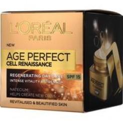 L'Oréal Paris Age Perfect Cell Renaissance Herstellende Verzorging Dag SPF15 50 ML, creme 50 ML creme
