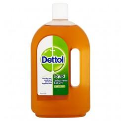 Dettol antibacterieel 750ML+Dettol zeep Tablet original