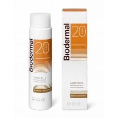 Biodermal Zonnemelk Hydraplus Factor(spf)20 Uv...