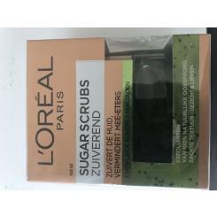 L'Oréal Paris Skin Expert Sugar Scrub - Zuiverend - Kiwi 50 ML, scrub 50 ML scrub