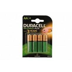Duracell AA Oplaadbare Batterijen - 4Pack