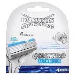 Wilkinson Quattro Titanium 4 Scheermesjes
