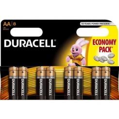 Duracell batterij AA $$$$voordelig pack  8stuken