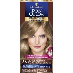 Poly Color Haarverf 36 MiddelasblondPoly