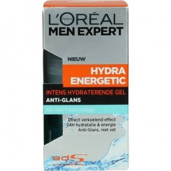 L'Oréal Men Expert Hydra Energetic No Shine Gel 50ml