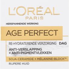 L'Oréal Paris Skin Expert Age Perfect Dagcrème - Rijpe Huid - Anti-Verslapping En Anti-Pigmentvlekken