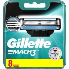 Gillette Mach3 8 scheermesjes