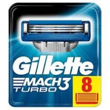 Gillette Mach3 Turbo 8 scheermesjes